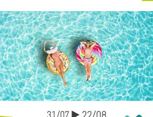 Congés d'été Sidonie du 31 Juillet au 22 Août inclus